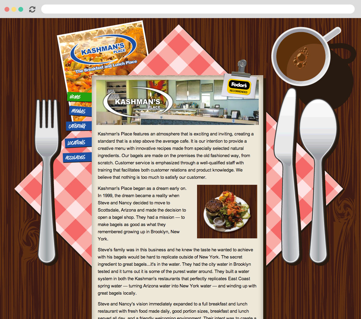 Kashman's Place Homepage